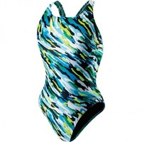 Speedo Team Camo Recordbreaker Youth :: Competition Swimwear :: Women's Swimwear :: D&J Sports