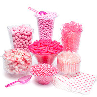 Pink Candy Buffet Kit: 25 to 50 Guests