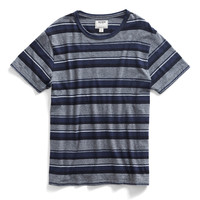 Black Stripe Crew T-Shirt