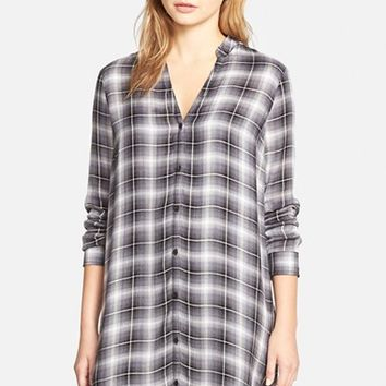 Women's cupcakes and cashmere 'Big Sur' Plaid Shirtdress,