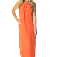 Orange Creamsicle- Maxi Dress
