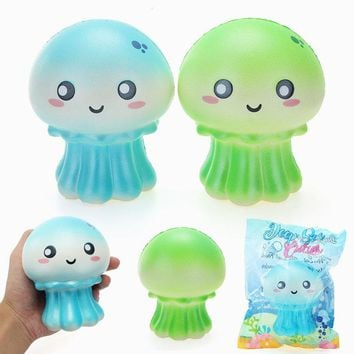 Cutie Creative Squishy Jellyfish Jumbo 10.5cm Shiny Slow Rising Original Packaging Collection Gift Decor Toy