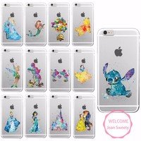 Watercolor Disney Iphone Cases