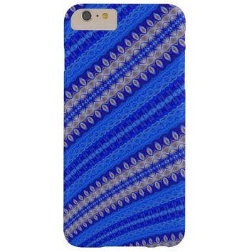 stunning blue abstract barely there iPhone 6 plus case