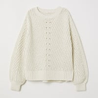 H&M Knit Chenille Sweater $19.99