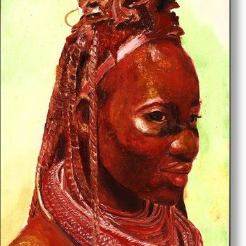 African Beauty - Metal Print 59