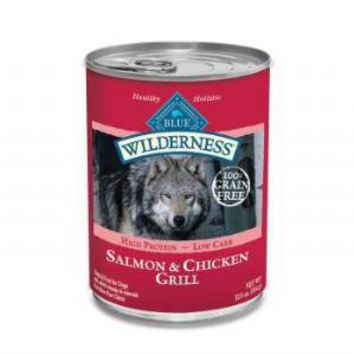 Blue Wilderness Salmon Chicken Dog Food
