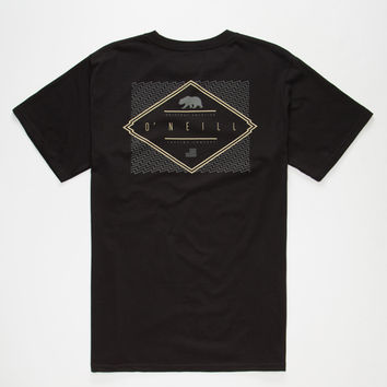 O'neill Dimension Mens T-Shirt Black  In Sizes