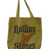 Rolling Stones Tote Bag - Faded Logo