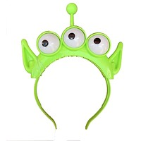 Disney Parks Toy Story Land Little Green Men Glow Eyes Headband New with Tag