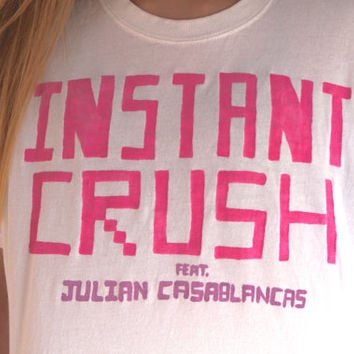 Daft Punk Instant Crush Feat. Julian Casablancas Tee