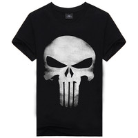 Men's Fashion Stylish Print Short Sleeve Plus Size T-shirts [6541162307]