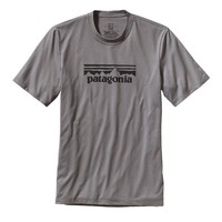 Patagonia Men's Polarized Tee - 20-UPF Sun Protection | Fitz Solid: Feather Grey