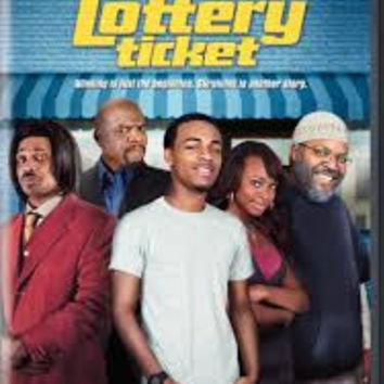 Lottery Ticket Movie DVD Used 2010 Ice Cube UPC883929130993