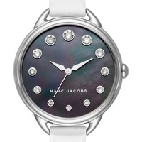 MARC JACOBS Betty Leather Strap Watch, 36mm | Nordstrom