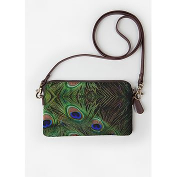 Peacock Statement Clutch