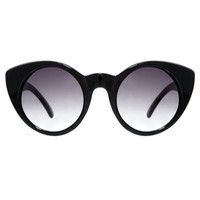 Vans Cat Eye Sunglasses in Black