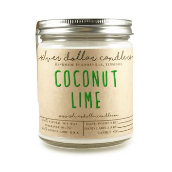 Coconut Lime - 8oz Soy Candle