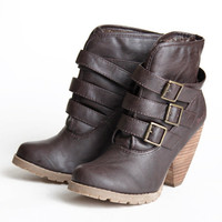 Blowfish Aerin buckled ankle boots - $72.99 : ShopRuche.com, Vintage Inspired Clothing, Affordable Clothes, Eco friendly Fashion