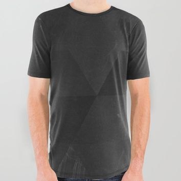 Fade to Black All Over Graphic Tee by duckyb