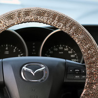 Steering Wheel Cover Bow Wheel Car Accessories Lilly Heated For Girls Interior Aztec Monogram Tribal Camo Cheetah Sterling Chevron Sequins