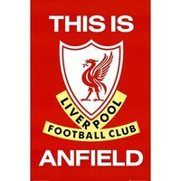 Liverpool FC This Is Anfield Sports Poster Print