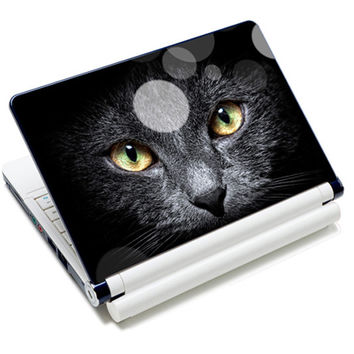 "Cool Cat Design Sticker Skin Cover For 14"" 15"" 15.4"" 15.5 15.6"" Sony HP Toshiba Laptop PC"
