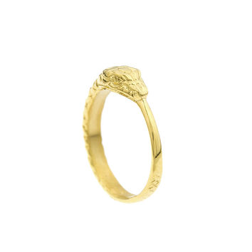 Mister  Ouroboros Ring - Gold