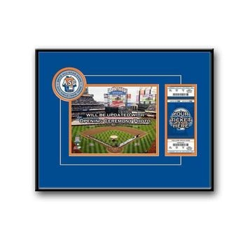 Major League Baseball-2013 MLB All-Star Game 8x10 Photo and Ticket Frame - Mets