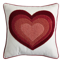 Ombre Heart Pillow