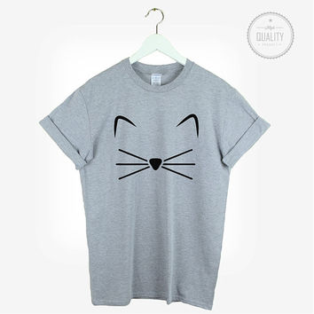 Crazy Cat Landy T Shirt unisex mens womens tumblr meow love cats christmas pinterest instagram hipster blogger cool gift