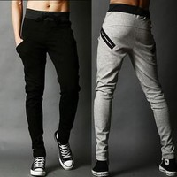 With Pocket Casual Stylish Pants Sportswear [6541730307]