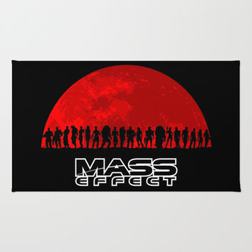 Mass Effect Rug by TxzDesign