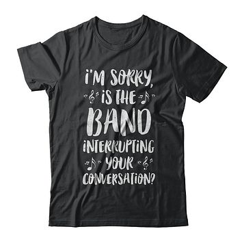 I'm Sorry Is The Band Interrupting Your Conversation