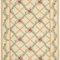 Chelsea Country & Floral Indoor Area Rug Ivory