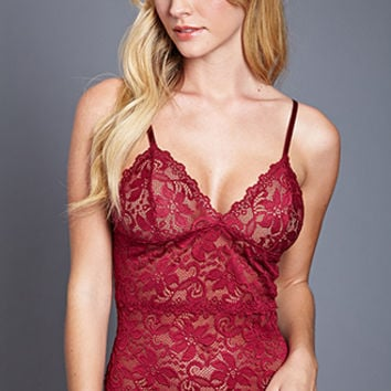 FOREVER 21 Floral Lace Cami