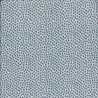 Three Eights Yard Plus of 1980s Blue Calico Cotton Quilt Fabric, 44 Inches Wide, ~~by Victorian Wardrobe
