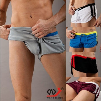 Fashion Men's Swimwear Swimming Trunks Sports Wear Sexy Short Beach Pants [9210699011]