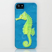 Sea Horse iPhone Case by Dale Keys | Society6
