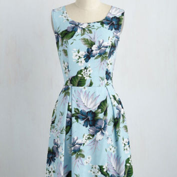 I Rest My Grace Dress in Hibiscus