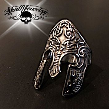 'Achilles' Stainless Steel Ring (082)