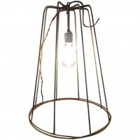 Industrial Pendant Light made from Tomato Cages | Second Shout Out, Vintage Marketplace