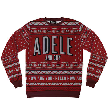 Adele and Cry Sweatshirt