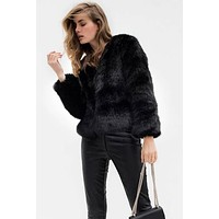 Eva Faux Fur Coat(Ready to ship)
