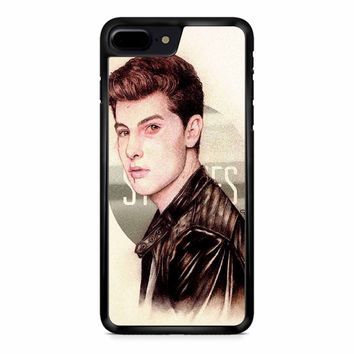 Shawn Mendes Art iPhone 8 Plus Case