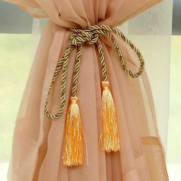 Tassels For Drapery Curtain Tie Backs Rope