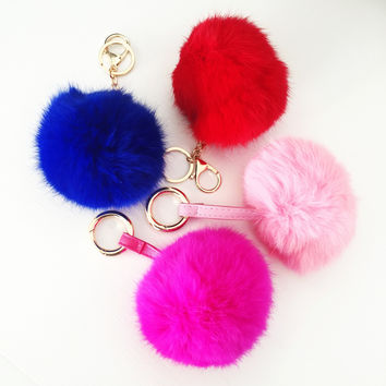 Soft Furry Keychain/Handbag Accessory