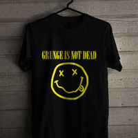 nirvana grunge is not for man and woman shirt / tshirt / custom shirt
