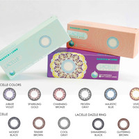 LACELLE COLORED CONTACT LENS