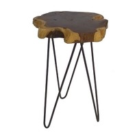 Live Edge Accent Table Brown - Threshold™ : Target